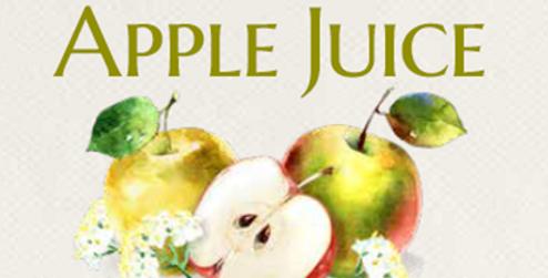 Cloudy Apple & Elderflower Juice