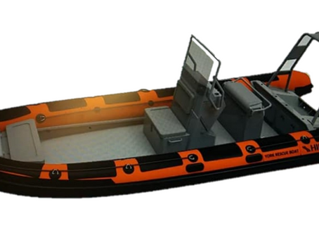 """New lifeboat for York Rescue Boat """"Spirit of Sonny"""""""