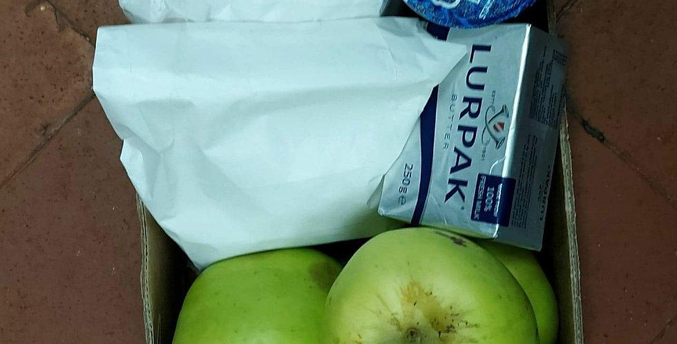 Apple pie / crumble box