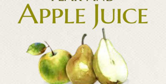 Cloudy Pear & Apple Juice -75cl