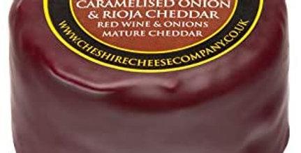 Caramelised Onion & Rioja Cheddar 200g Wax