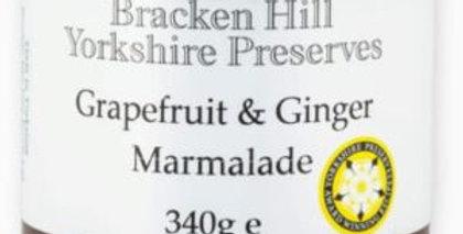 Grapefruit & Ginger Marmalade Medium Cut 340g