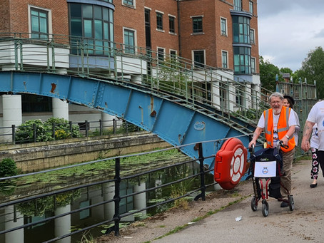 Mike's York Walk in aid of York Rescue Boat