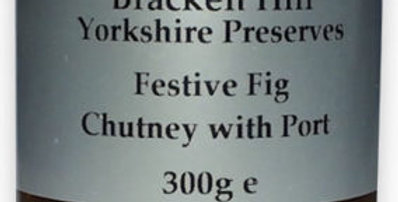 Festive Fig Chutney with Port 300g