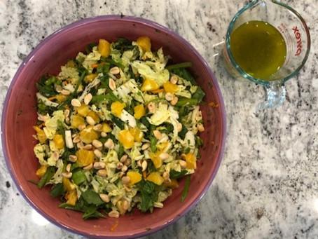 Orange-y cabbage deliciousness