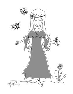 Mom Flower Child