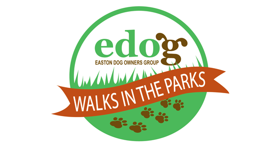 edog WALKS in the PARKS logo