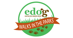 edog WALKS in the PARKS logo