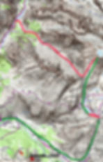 Relativement accessible, c'est un très beau sommet à ski, avec une super descente de 1700m de dénivelé. Départ Fouillouse, puis pas de la Couletta, et refuge de Chambeyron. Arrivée pont vouté.