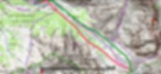 topo ski de rando, ski nordique et raquette à neige : col du Vallonet depuis Fouillouse. Itinéraire au milieu des plus hauts et majestueux sommets de l'Ubaye : Rocca Bianca, Brec de Chambeyron, Tête de l'Homme. Le col du Vallonnet rejoint le vallon Oronaye
