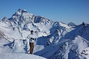 ski de randonnée avec Odilon Ferran guide de haute montagne