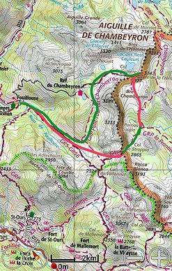 Très beau parcour autour du plus haut sommet de l'Ubaye, en un ou deux jours, possibilité de faire étape au refuge du Chambeyron
