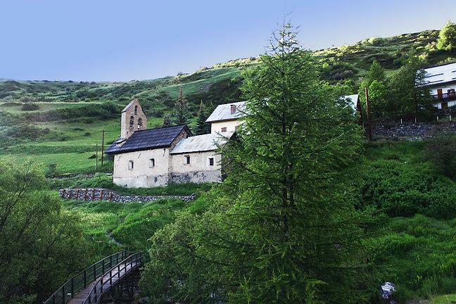 Fouillouse, sur la commune de Saint Paul sur Ubaye, à proximité du parc national du mercantour