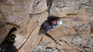 escalade et autres activités de montagnes avec un guide