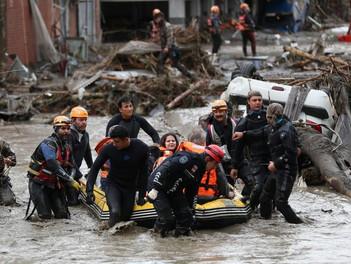 China, Japón, India y Turquía sufren inéditas inundaciones