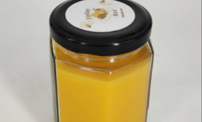 We are so delighted that our new beeswax candles is almost perfected!