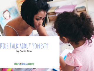 Kids Talk About Honesty by Carrie Finn
