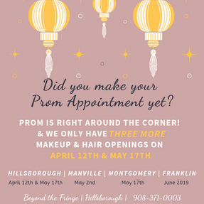 Prom Appointments