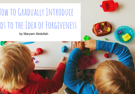 How to Gradually Introduce Kids to the Idea of Forgiveness