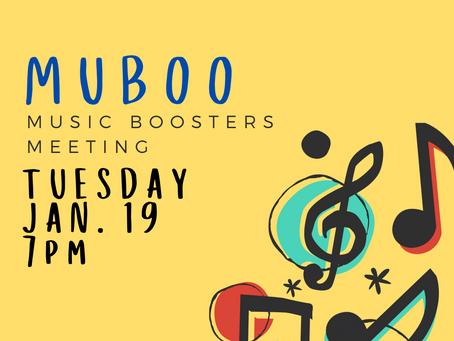 MUBOO Meeting / Jan 19, 2021