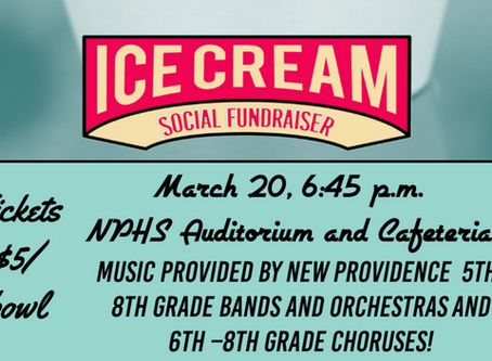 Ice Cream Social // March 20, 2019
