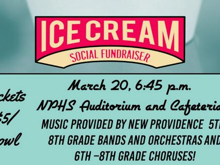 Ice Cream Social // March 20, 2019