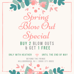 Spring Blow Out Special
