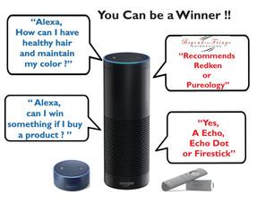 Win an Amazon ECHO