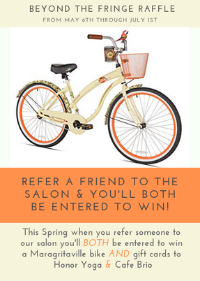 Refer a Friend...Win a Bike!