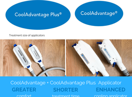Advantage Plus - the newest applicator for CoolSculpting