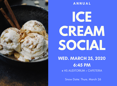 Ice Cream Social // **CANCELLED**