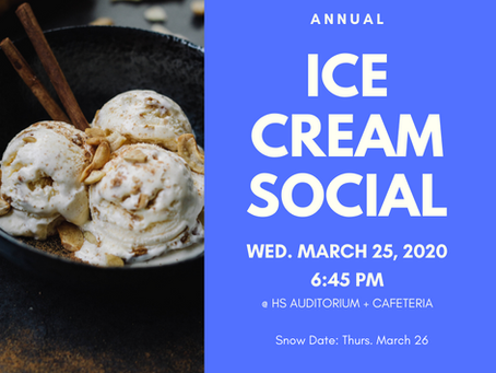 Ice Cream Social // **CANCELLED**