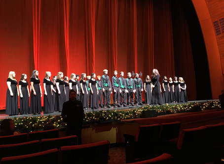 2019 High School Choir at Radio City