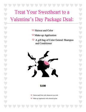 Valentine's Day Sweetheart Deal