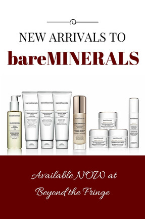 NEW ARRIVALS TO bareMINERALS