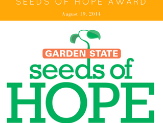 Seeds of Hope Award