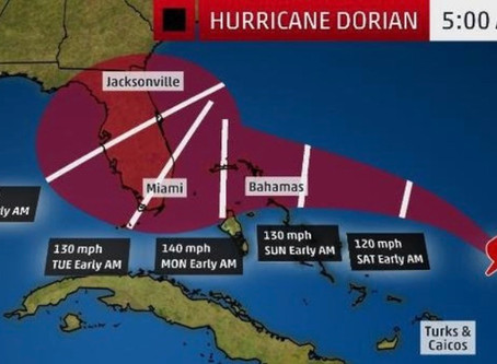 Be Prepared for Hurricane Dorian!