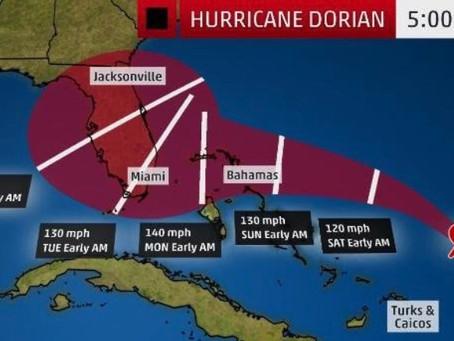 Be Prepared for Hurricane Dorian!