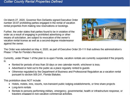 Collier County Rental Properties