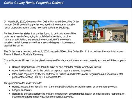 Collier County Rental Properties