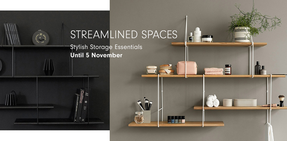 Streamlined spaces