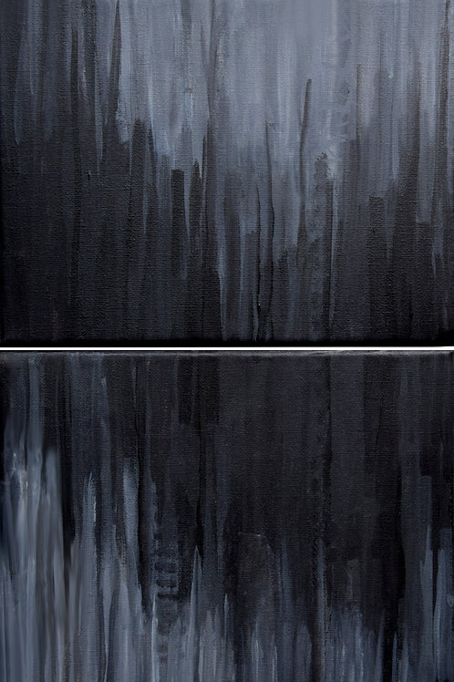 Wave - diptych