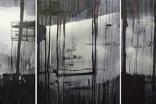 Landscape - triptych