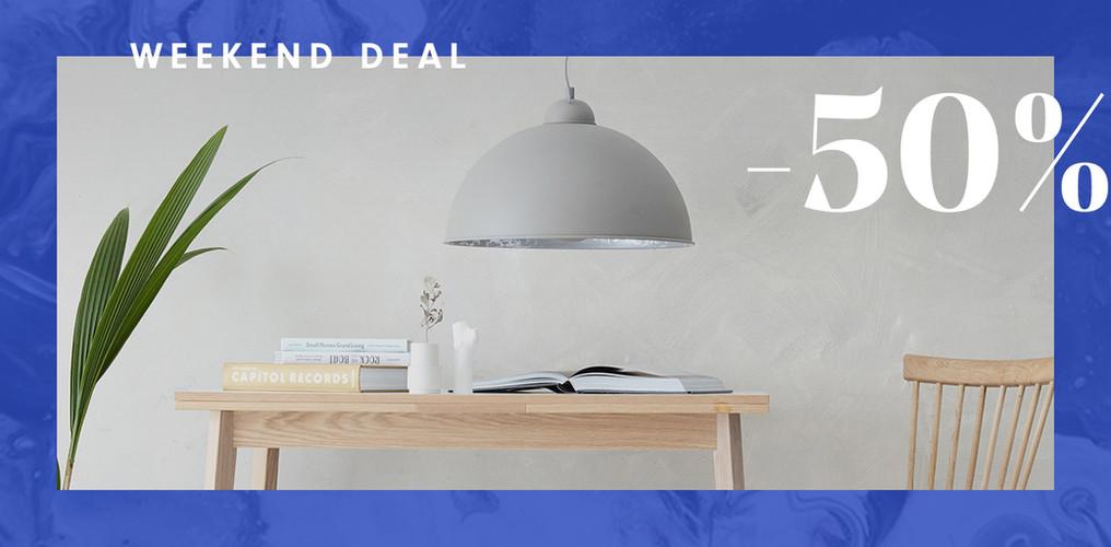 Weekend deal