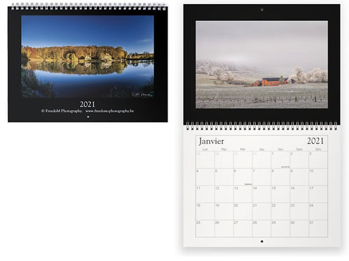 "calendrier ""paysages, nature"""