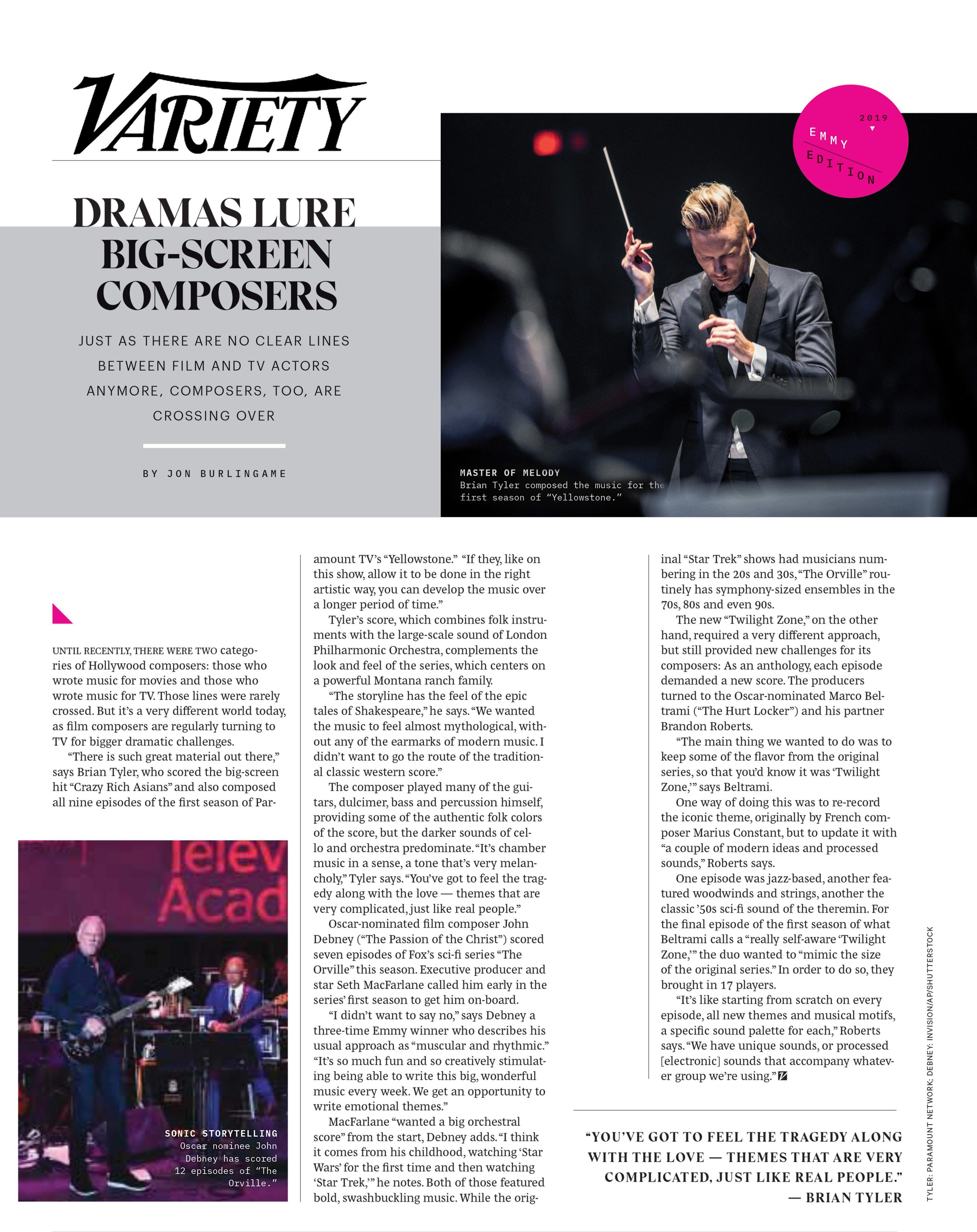 Variety Jun 2019