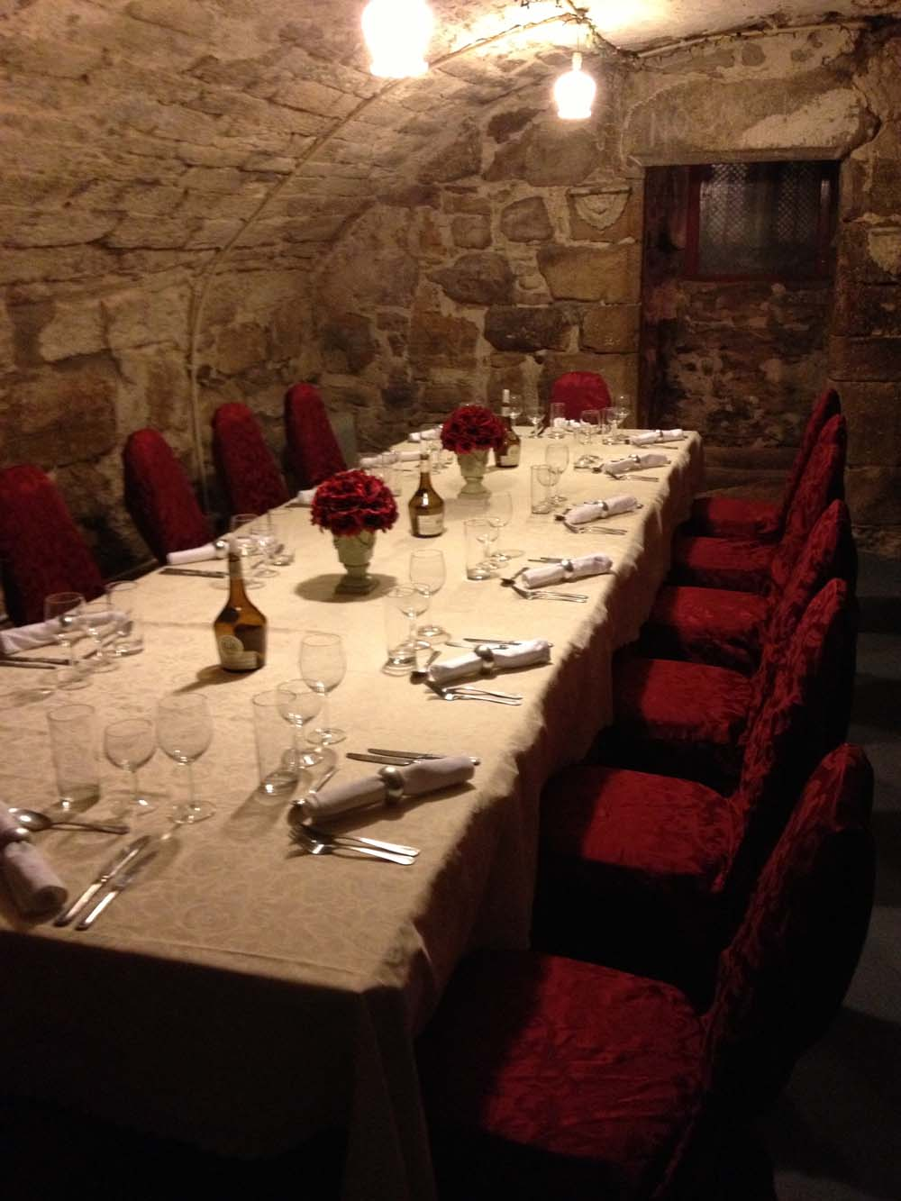 Dinner in the Cellar