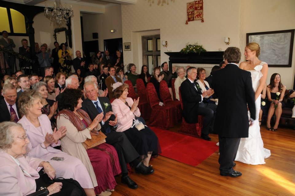 Wedding in Reception