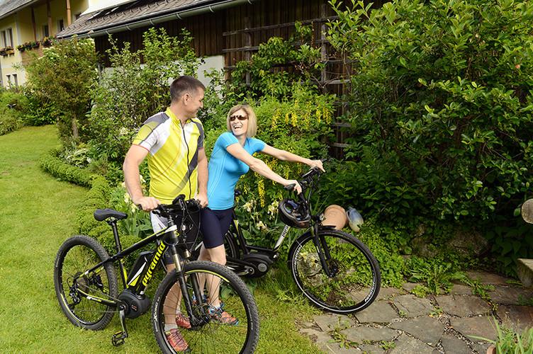 e-bike Urlaub im Stall