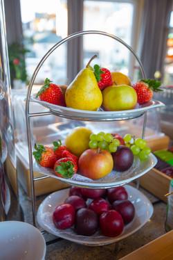 für genug Vitamin C frischen Obst